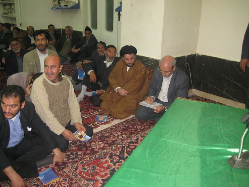 گزارش تصویری از جلسات آقای حاجی