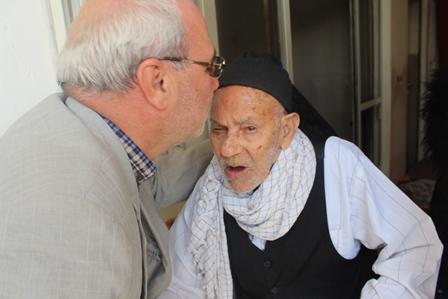 گزارش تصویری از دیدار نوروزی آقای حاجی با خانواده محترم شهدا