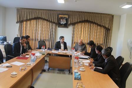 جلسه با مدیر کل راه و شهرسازی استان برای پیگیری پروژه های حوزه انتخابیه
