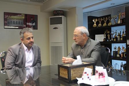 جلسه با رئیس انجمن صنفی تولید کنندگان لوازم خانگی ایران