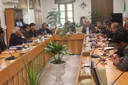جلسه با آقای طرفه با موضوع اراضی غرب شاهین شهر جاده جهادآباد