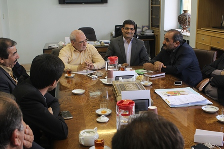 حاجی با رئیس سازمان جهاد کشاورزی استان اصفهان دیدار کرد.
