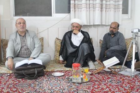 حاجی در جهاد آباد : نماینده ، سنگ صبور مردم از ناحیه نظام است.
