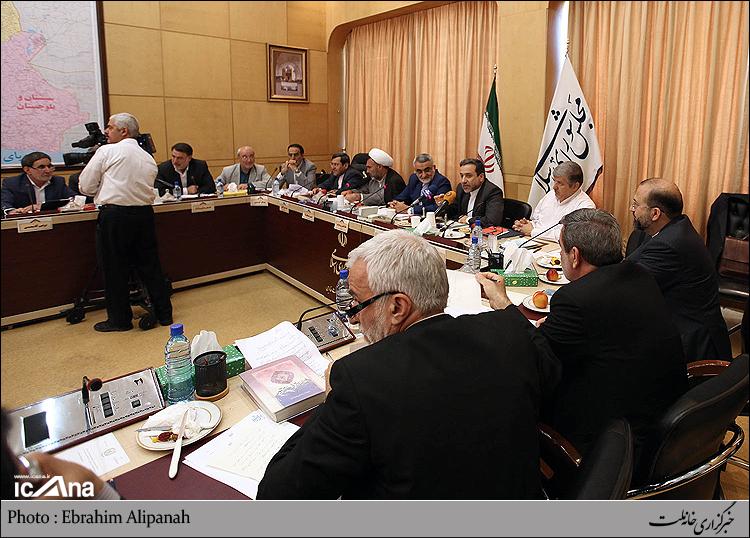 حضور آقای حاجی در کمیسیون امنیت ملی و سیاست خارجی