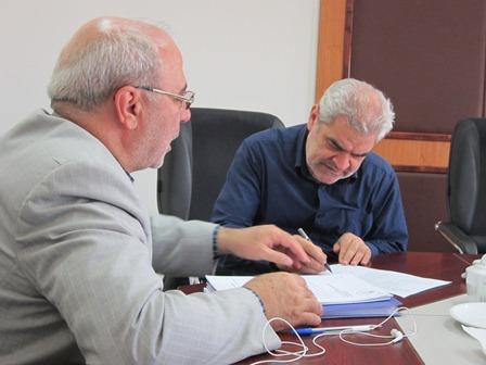 دیدار آقای حاجی با معاون اقتصادی وزیر صنعت، معدن و تجارت