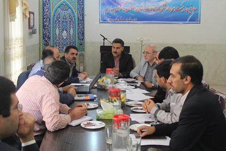 بررسی مشکلات مخابراتی در جلسه با مدیر عامل مخابرات استان