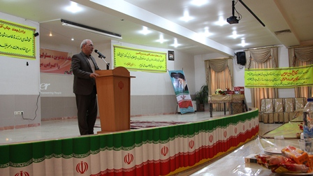 حاجی در مراسم معارفه رئیس آموزش و پرورش میمه: سعادت آینده جامعه وابسته به فعالیت فرهنگیان است.