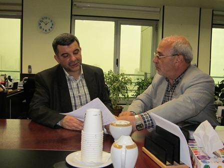 آقای حاجی با قائم مقام وزیر بهداشت د یدار کرد.