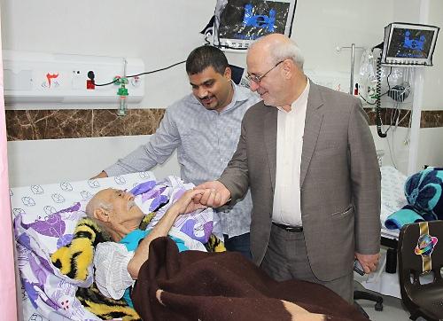 افتتاح اورژانس بیمارستان گلدیس شاهین شهر