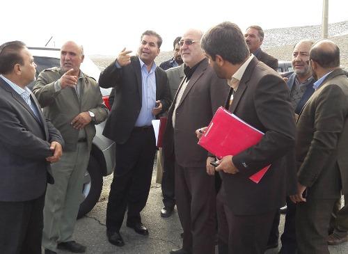 بازدید آقای حاجی از شهر لایبید و روستاهای موته و حسن رباط