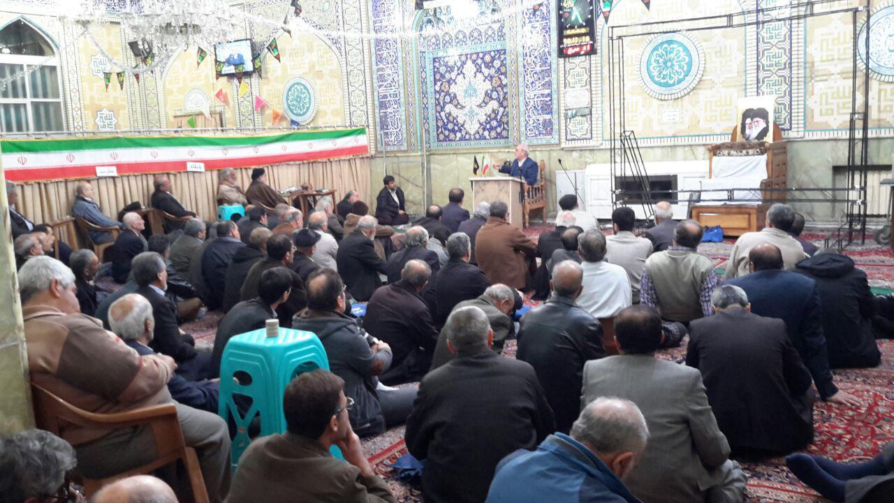 گزارش تصویری مسجد امیرالمؤمنین علیه السلام خیابان جی اصفهان