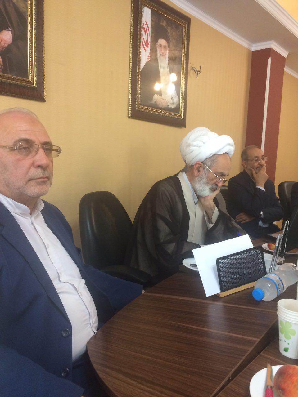 آقای حاجی روز یکشنبه ۲۵ تیر ماه ۹۶ با سردار جزایری معاون و سخنگوی ستاد کل نیروهای مسلح دیدار کرد.