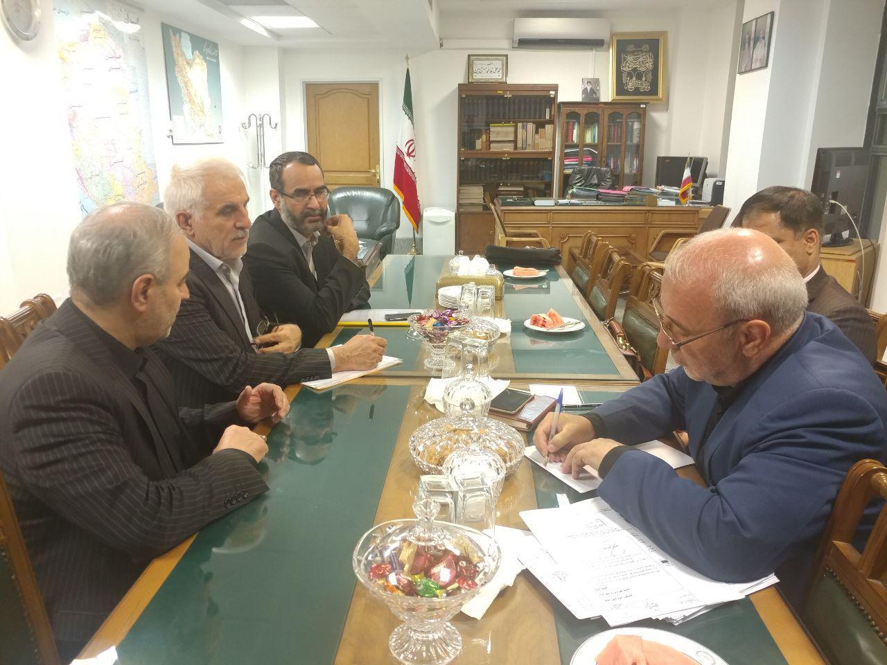 دیدار آقای حاجی با علیرضا محفوظی معاون وزیر راه وشهرسازی