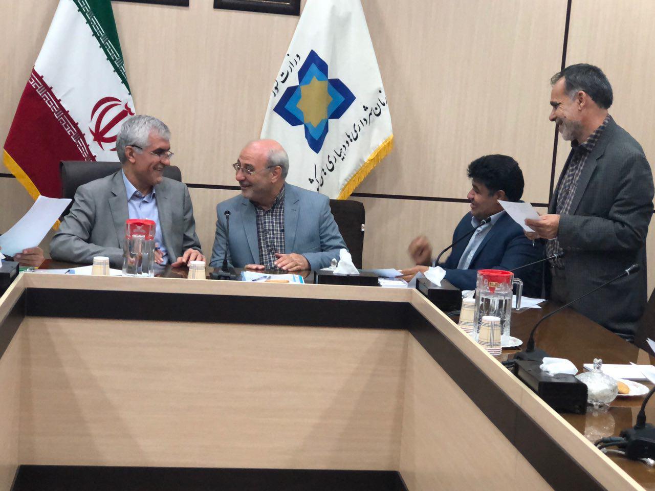 دیدار  حاجی با افشانی معاون عمرانی وزیر کشور