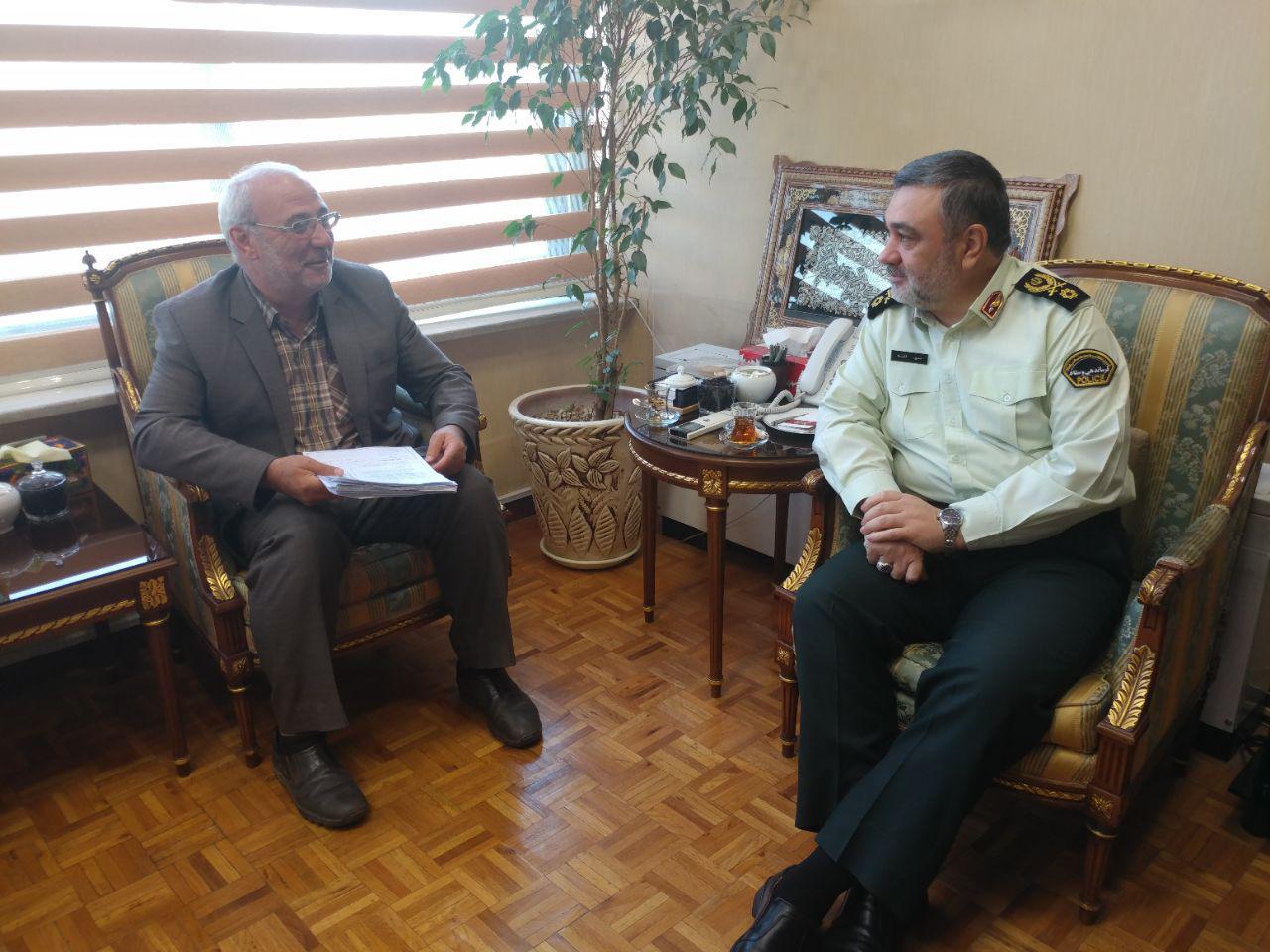 رایزنی برای حضور سردار اشتری فرمانده نیروی انتظامی جمهوری اسلامی ایران در منطقه