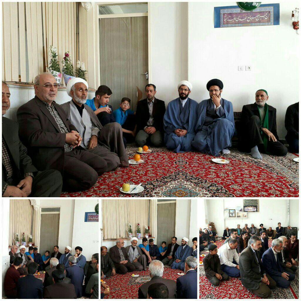 دیدار با جمعی از فعالان فرهنگی و اجتماعی محله امامزاده نرمی