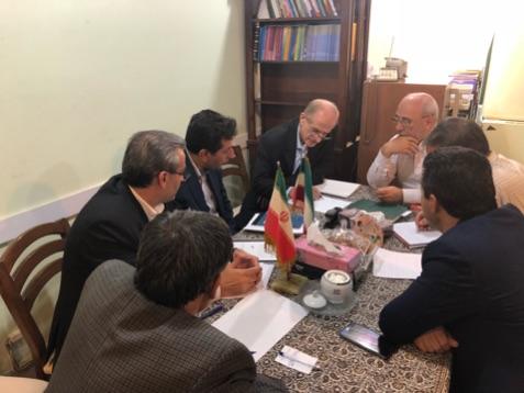 دیدار با مهندس حسن نیا معاون وزیر و رئیس سازمان راهداری کشور