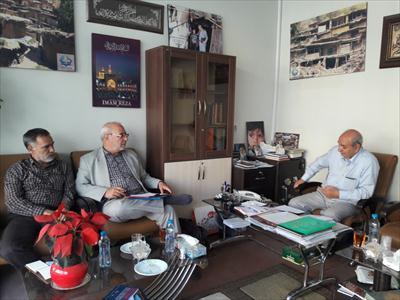 🔷در بازدید  آقای حاجی از موسسه عترت معصومین علیهم السلام