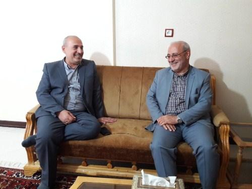 🔵آقای حاجی میزبان نماینده مردم شریف مسجد سلیمان