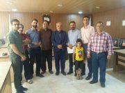 🔺جمعی از نیروهای قراردادی نفت و گاز باحضور در دفتر آقای حاجی با ایشان دیدار و در خصوص مسائل صنفی خود گفتگو کردند