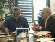 🔴 حسینعلی حاجی با محمود حجتی وزیر جهاد کشاورزی دیدار و گفتگو کرد.