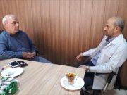🔴 رئیس امور شعب بانک انصار استان اصفهان با حضور در دفتر آقای حاجی با ایشان دیدار و گفتگو کرد