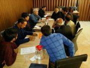 🔶 دیدار با هیات تصفیه اتحادیه تعاونی های مسکن مهر شاهین شهر و میمه