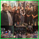 ⚫حضور  آقای حاجی در مراسم عزاداری سید و سالار شهیدان حضرت امام حسین علیه السلام
