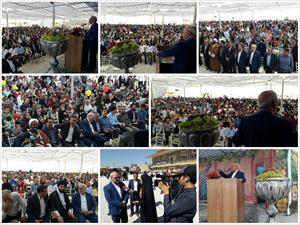 🔶حضور و سخنرانی آقای حاجی در جشنواره انگور حسن رباط