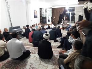 🔶جلسه سیاسی در محله امامزاده نرمی دولت آباد