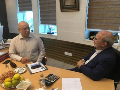 دیدار با دکتر صدری مدیر عامل شرکت مخابرات ایران