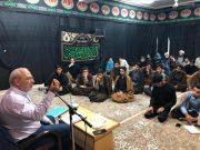 ⭕حسینعلی حاجی؛ در جمع تعدادی از طلاب و روحانیون حوزه علمیه حضرت امام علی بن موسی الرضا علیه السلام قم در حال سخنرانی است.