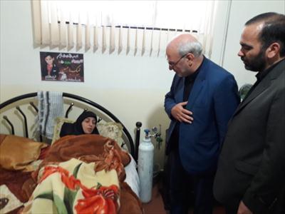 🔶حسینعلی حاجی؛  ضمن حضور در منزل شهید محمدطاها اقدامی با خانواده معظم شهید دیدار کرد.