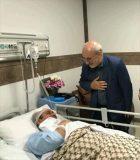 حاجی از دکتر تاجگردون رئیس این کمیسیون عیادت کرد.