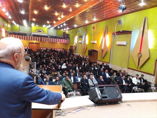 سخنرانی آقای حاجی در مراسم تجلیل از ورزشکاران بسیجی شهرستان برخوار