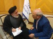ملاقات  آقای حاجی با معاون رئیس جمهور و رئیس بنیاد شهید