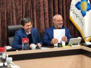جلسه آقای حاجی با دکتر جمالی نژاد معاون وزیر و رئیس سازمان شهرداری ها و دهیاری های کشور