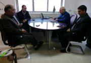 جلسه با شورای اسلامی ومدیرمنابع طبیعی شهرستان برخوار