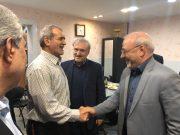 🔴 دیدار و گفتگوی آقای حاجی با دکتر نمکی وزیر پیشنهادی بهداشت درمان و آموزش پزشکی