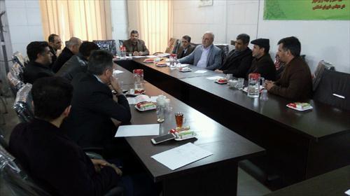 🔷جلسه جمعی از معلمان شهرستان برخوار با آقای حاجی