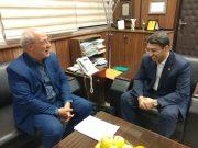 ✅✅حسینعلی حاجی؛ با وحید قبادی دانا معاون وزیر و رئیس سازمان بهزیستی کشور دیدار و گفتگو کرد.