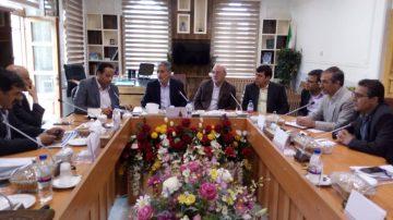 🔵جلسه تامین آب و اجرای شبکه آب شرب روستاهای شهرستان شاهین شهر و میمه