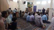 حضور در جمع نمازگزاران مسجد حضرت بقیه الله (عج) دولت آباد