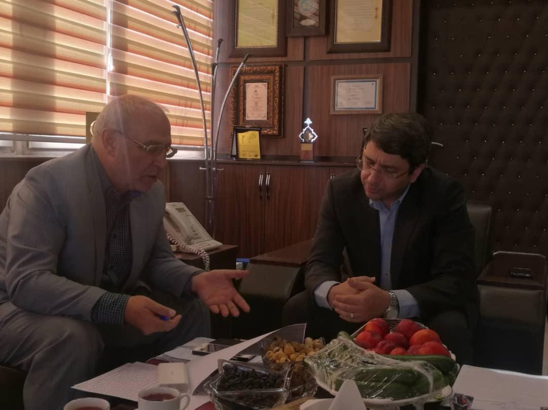 ⚪  دیدار با وحید قبادی دانا معاون وزیر تعاون، کار و رفاه اجتماعی و رئیس سازمان بهزیستی کشور است.