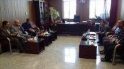 ✅✅ رسیدگی به مشکلات کارگران شرکت بنیاد پوشش و جلسه با رئیس دادگستری شهرستان شاهین شهر و میمه