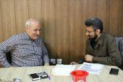 ⭕باقری رئیس دانشگاه آزاد اسلامی واحد دولت آباد با حضور در دفتر آقای حاجی با ایشان دیدار و گفتگو کرد.