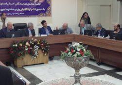 در دفاع از آب استان اصفهان و در استانداری؛ ♨سخنرانی طوفانی آقای حاجی در حضور وزیر نیرو:+صوت