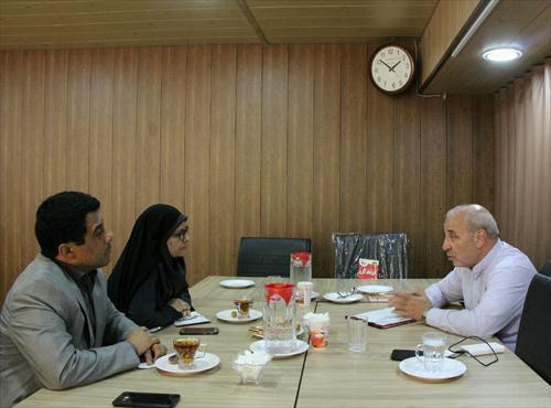 ✅در دیدار خانم دکتر فرشاد مدیر کل بهزیستی استان اصفهان مطرح شد