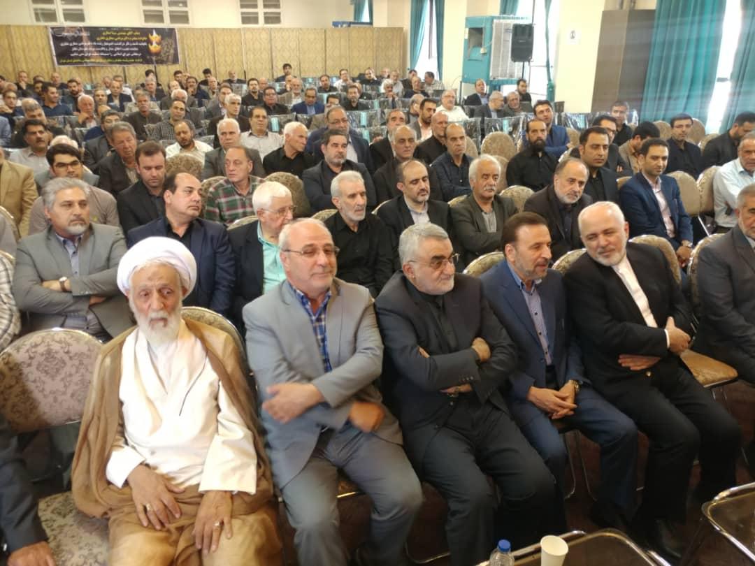 شرکت در مراسم ترحیم مرحوم دکتر صفاری نطنزی نماینده فقید مردم نطنز