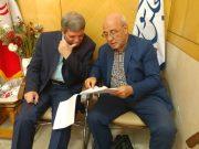 دیدار و گفتگو با آقای سید جواد حسینی سرپرست وزارت آموزش و پرورش